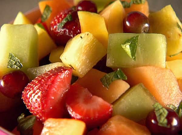 Mixed Fruit Salad With Fresh Squeezed Orange Juice Recipe