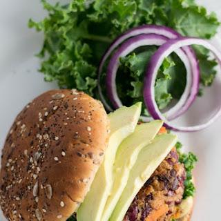 Kidney Bean Veggie Burgers.