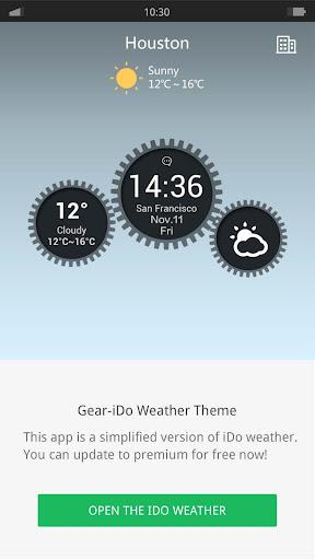 Gear - iDO Weather widget