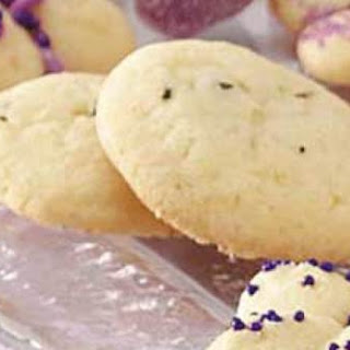 Lavender Cookies With Rose Water Icing.