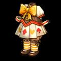黄色いアリスの服A