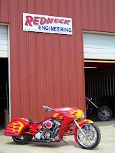 Photo: One Of Redneck's Custom Bikes