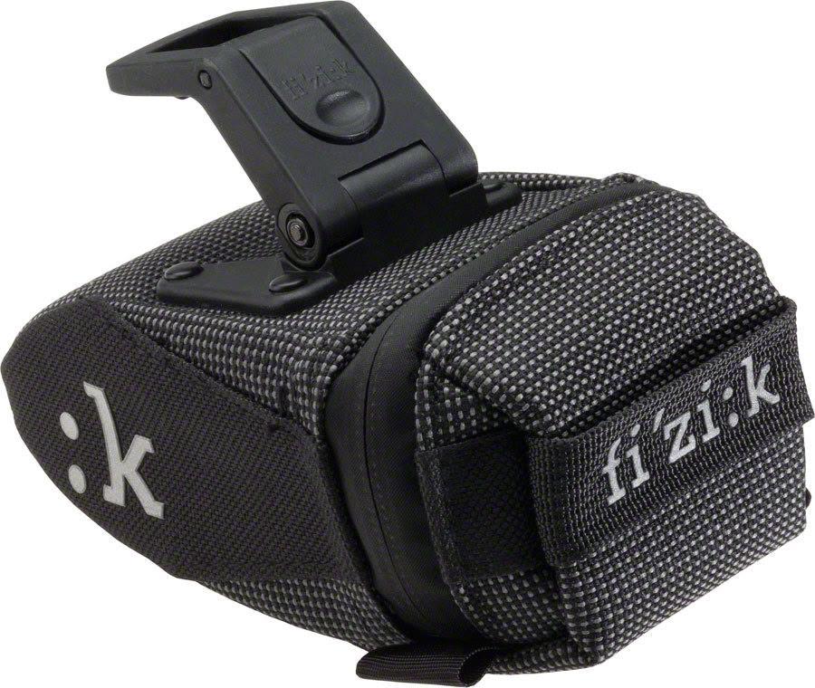 Fizik PAK ICS Saddle Bag Bike SMALL Black Road Mountain Gravel Clip-On Pack MTB