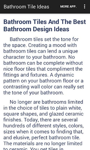 Bathroom Tile Ideas App App