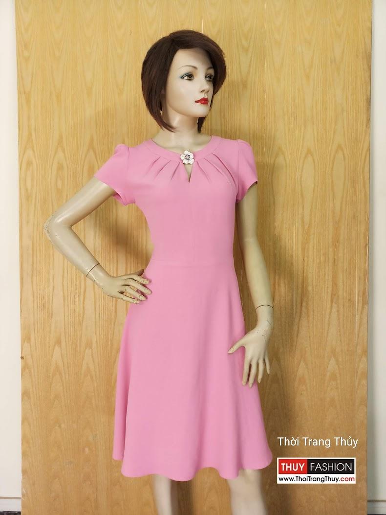 Váy công sở dáng xòe V616 Thời Trang Thủy Hải Phòng