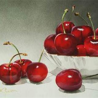 Sweet Cherry Coconut Smoothie.
