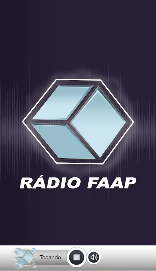 Radio FAAP: captura de tela