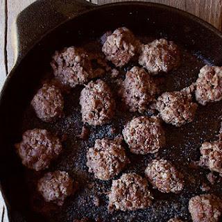 15 Minute Meatballs.