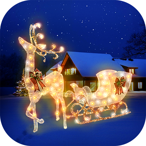 Baixar Decorações De Natal - Adesivos Para Fotos para Android