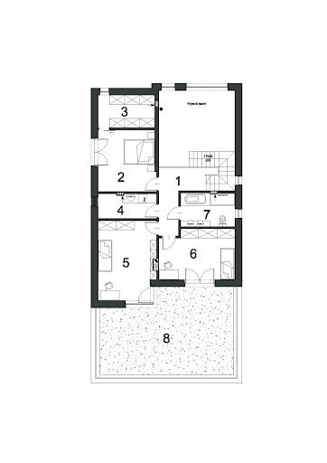 Współczesny D31 - Rzut piętra