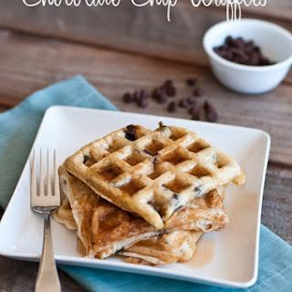 Chocolate Chip Waffles.