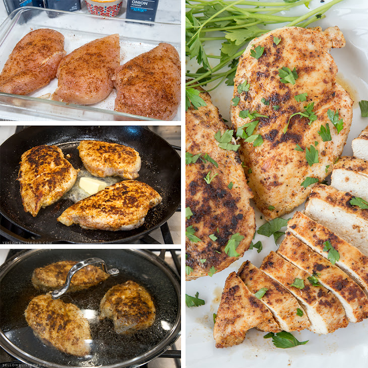 Stove Top Chicken Breast (Best Chicken Recipe) Recipe