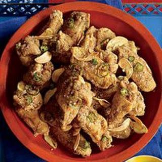Salt-and-Pepper Chicken.