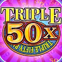Triple 50x Pay Slot Machine icon
