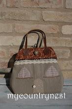 Photo: heart house bag, cartamodello disponibile, per info chiara@mycountrynest.org