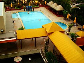 Photo: 008-Le Marina Mandarin à Singapour. La piscine