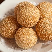 Golden Fried Sesame Balls