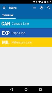 Vancouver Train - MonTransit - náhled
