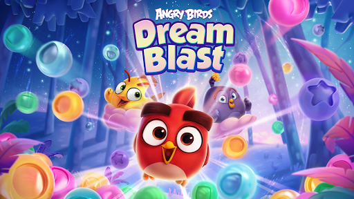 Angry Birds Dream Blast - Toon Bird Bubble Puzzle apkslow screenshots 15