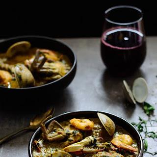 Seafood Beniseed Soup.