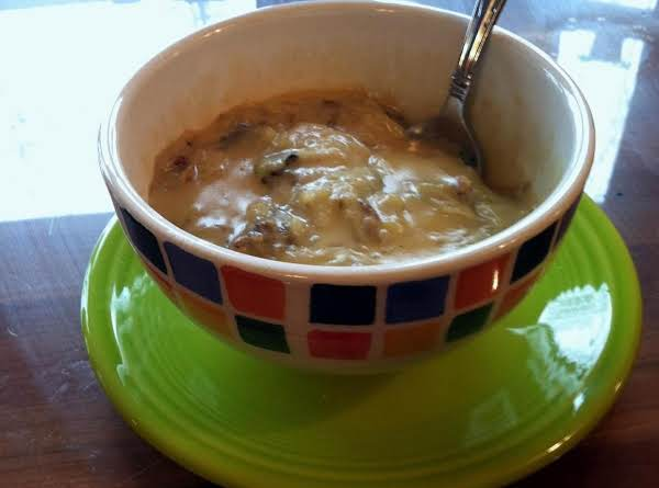 Mrs. Mom's Cheesy Potato Soup