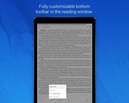 FullReader – e-book reader 4.0.7 screenshots 19