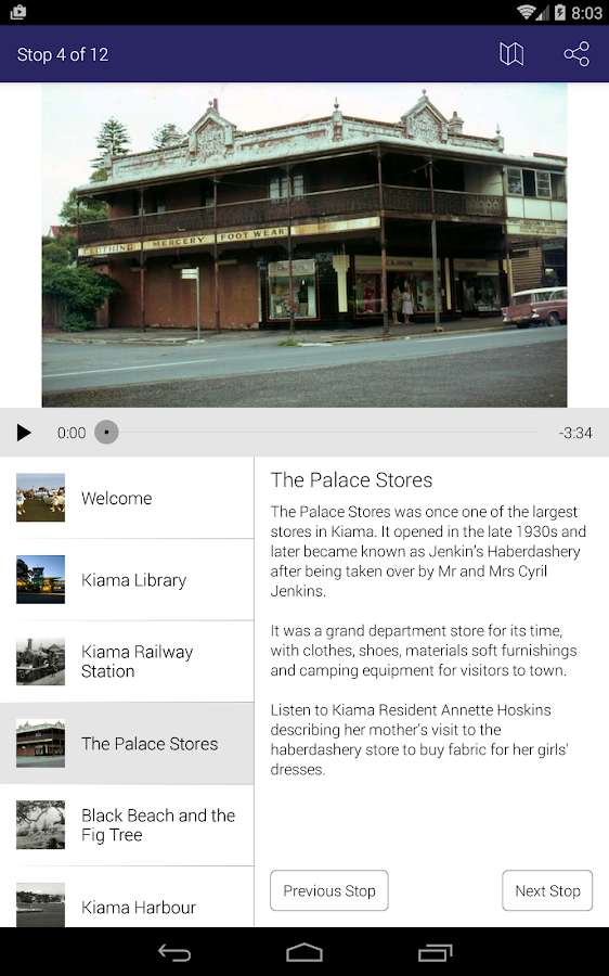Kiama Library Tours- screenshot
