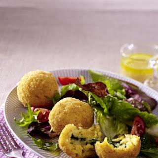 Spinach and Mozzarella Arancini