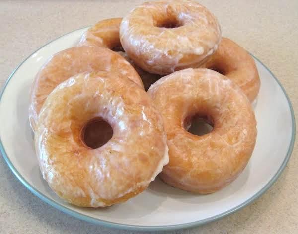 Homemade Glazed Or Sugar Doughnuts Recipe