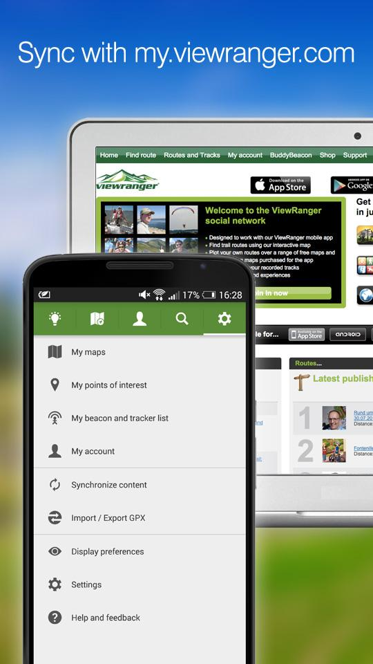 ViewRanger GPS - Trails & Maps screenshot #6