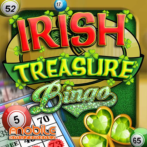 Irish Treasure Lucky Money Rainbow Bingo FREE (game)