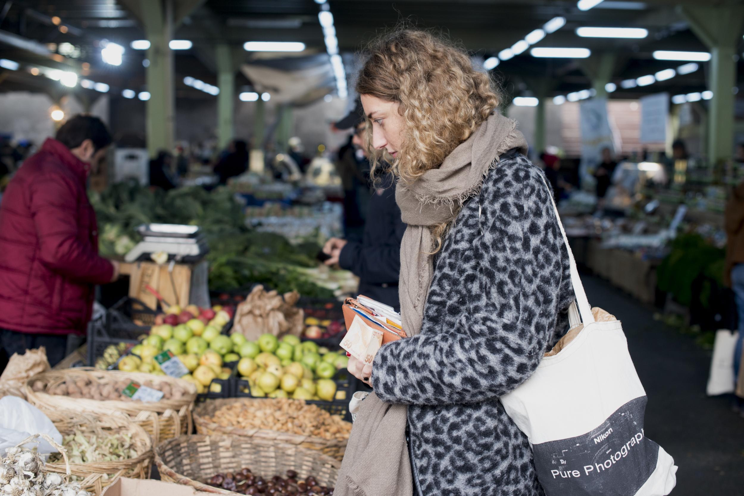 Ferikoy Organic market