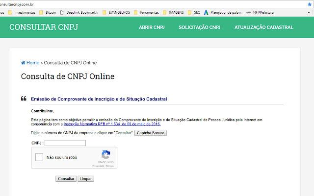 ConsultaCNPJ