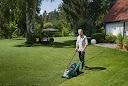 rückenfreundliche Rasenmähen
