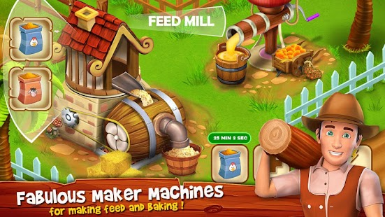 Paradise Hay Farm Island - Offline Game Screenshot