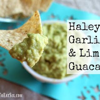 Haley's Garlic & Lime Guacamole.