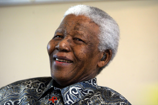 Former president Nelson Mandela. File photo.