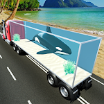 Wild Sea Animals Truck Transport Simulator icon