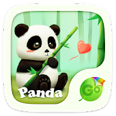 Panda GO Keyboard Theme &Emoji