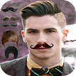 Man Mustache and Hairstyle color changer salon APK