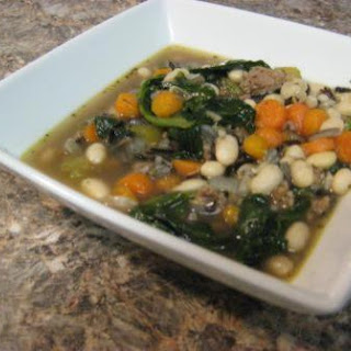White Bean & Spinach Soup.