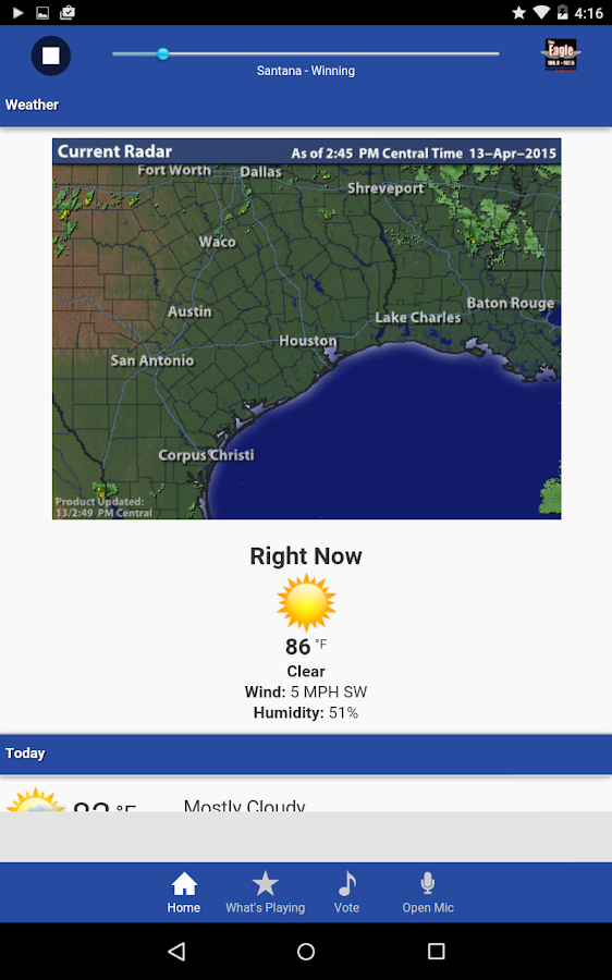 Houston's Eagle - screenshot