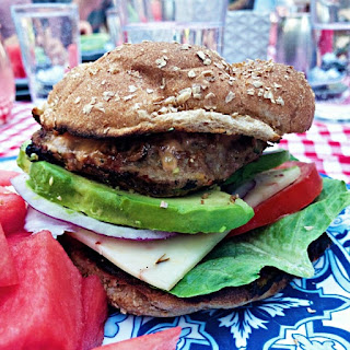 Summer Zucchini Turkey Burgers Recipe