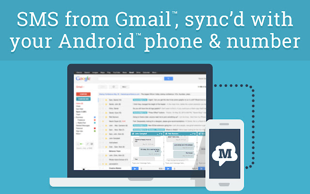 SMS from Gmail ™ & Facebook™ (MightyText)
