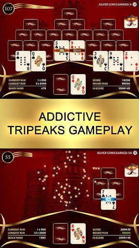 Towers TriPeaks: Classic Pyramid Solitaire 1.3.56 screenshots 1