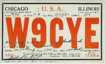 Photo: W9CYE 1933