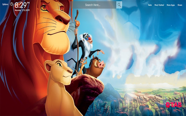 The Lion King Wallpapers HD Theme