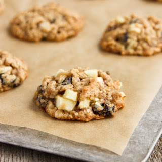 Oatmeal Cookies with Apples, Raisins, and Pecans.