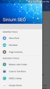 Sinium SEO Tools- screenshot thumbnail