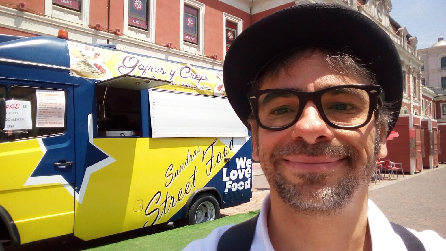mago en madrid con food truck en Príncipe Pío 2017